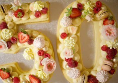tarta cumpleaños 50